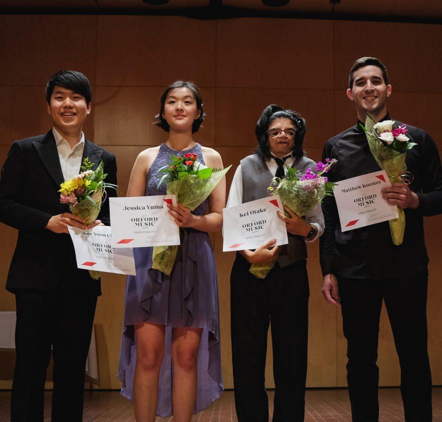Prix Orford Musique 2019