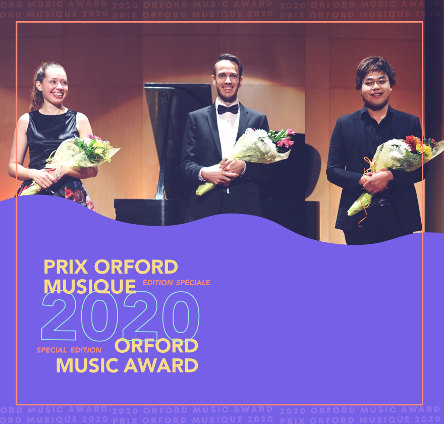 2020 Orford Music Award - Finalists