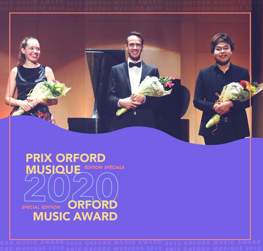 Prix Orford Musique 2020 - Finalistes