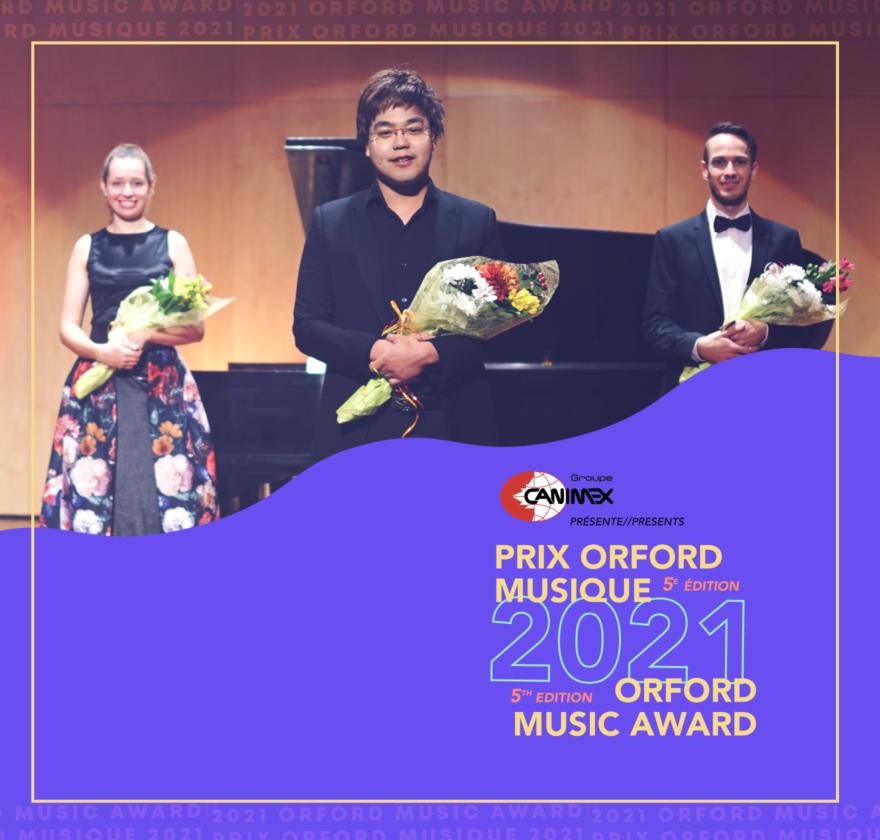 Canimex présente le Prix Orford Musique 2021