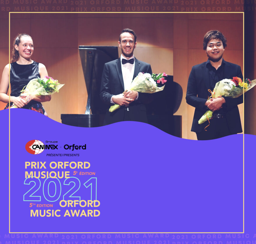 5th edition of the Orford Music Award
