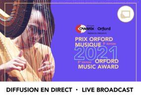 Prix Orford Musique 2021 - Demi-Finale 02 - Diffusion en direct