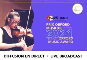 Prix Orford Musique 2021 - Demi-Finale 03 - Diffusion en direct