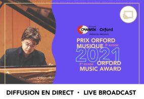 Prix Orford Musique 2021 - Demi-Finale 01 - Diffusion en direct