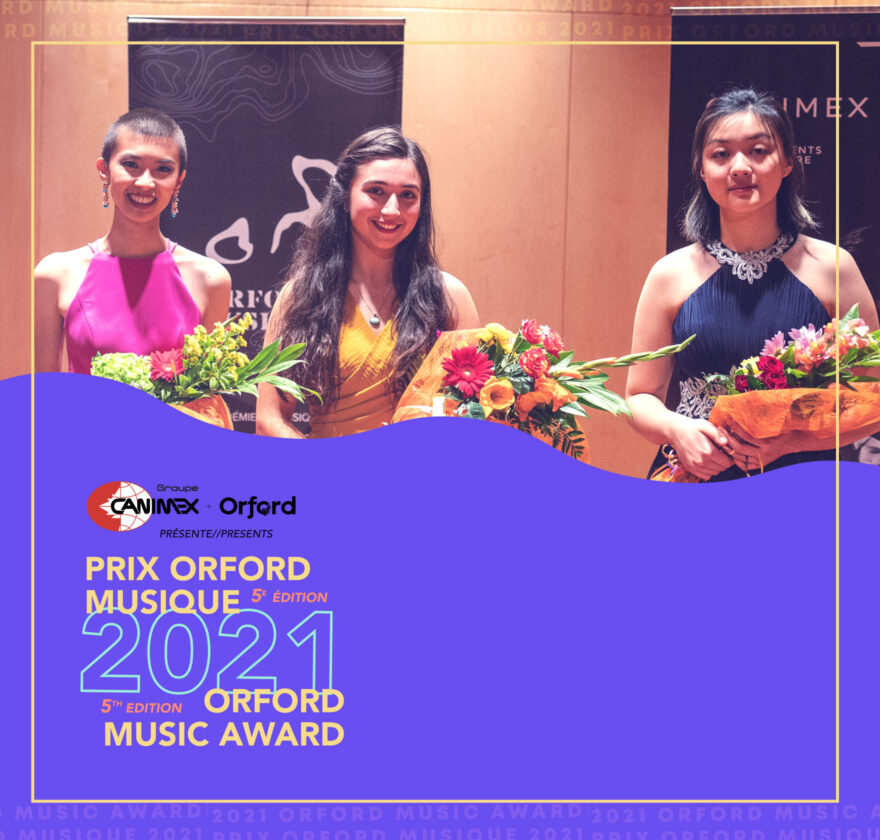 2021 Orford Music Award