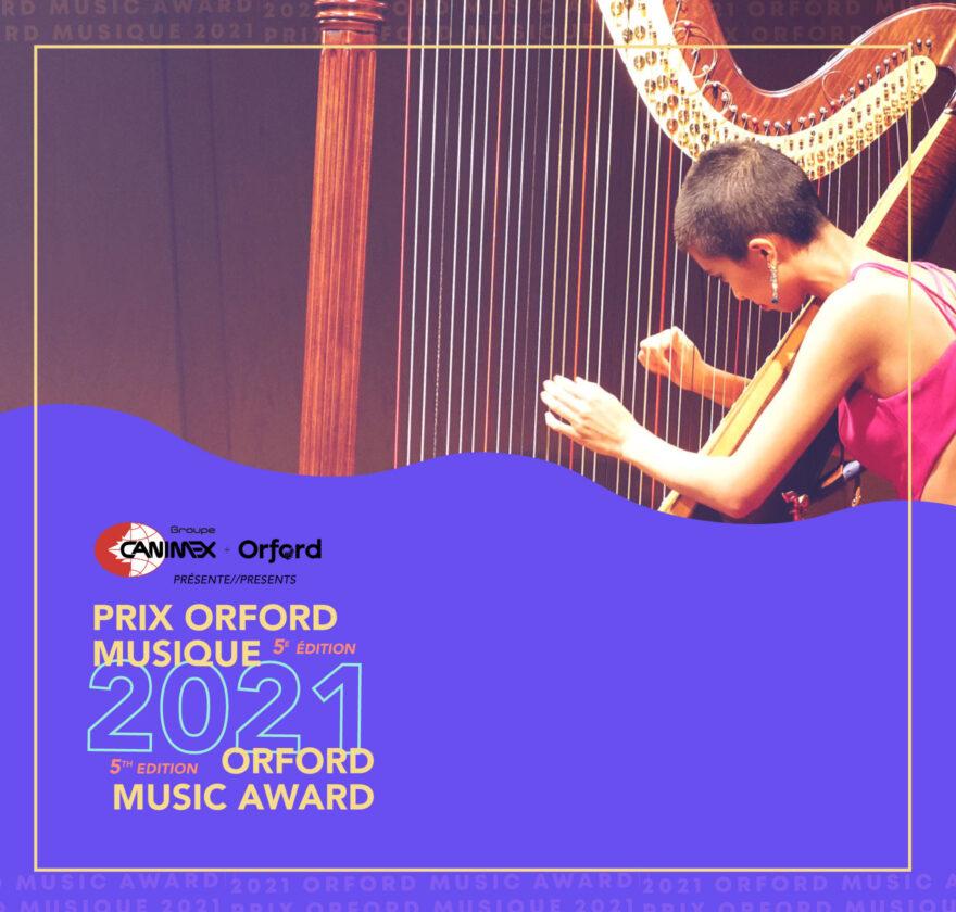 Prix Orford Musique 2021
