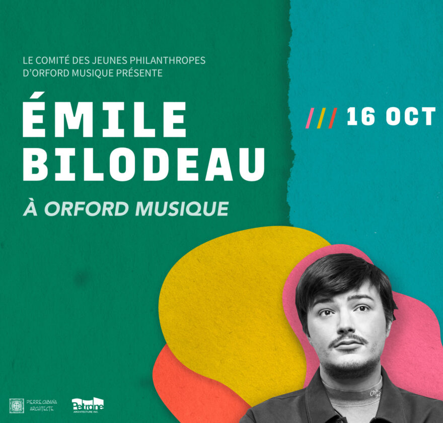 Émile Bilodeau in concert at Orford Music!
